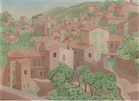 cagnes-sur-mer by lodewijk bosch