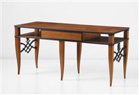 reading table (from the casa gadda conti, milan) by tomaso buzzi