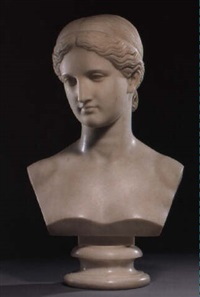 bust of a lady by lawrence macdonald