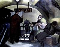 dans le métro by paul boudot