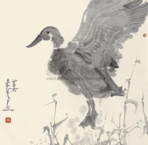 鸭 duck by zhou jingxin
