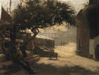 resting in the shade by james wilson mackenzie