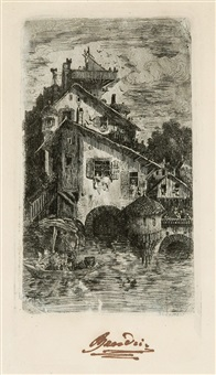 moulin à eau by rodolphe bresdin