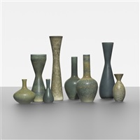 collection of eight vessels by carl-harry stålhane
