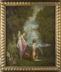 allegorical landscape by louise howland king cox