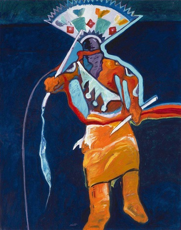 apache mountain spirit dancer by john nieto