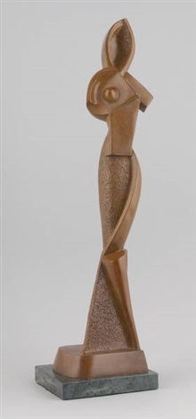 personnage abstrait by alexander archipenko