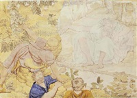 polyphemus discovered asleep by richard dadd
