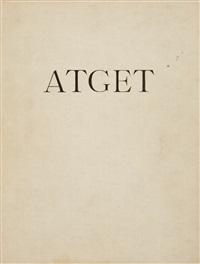 lichtbilder (album w/96 works) by eugène atget