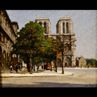 notre dame de paris by jean leport