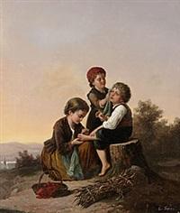 lillan tröstar by charles edouard frère
