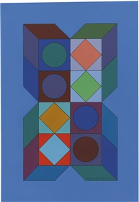 sonora v by victor vasarely
