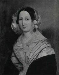 portraet af ernestine drewsen by louis auguste francois aumont