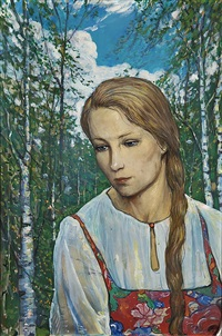 girl by ilya glazunov
