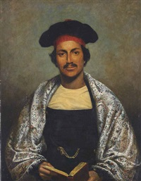 portrait of a learned gentleman of bengal by william henry florio hutchinson