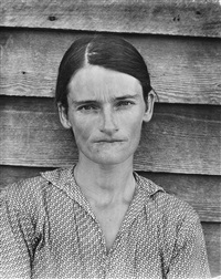 allie mae burroughs, hale county, alabama by walker evans