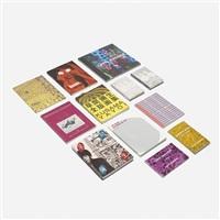 collection of twenty-seven books by yayoi kusama