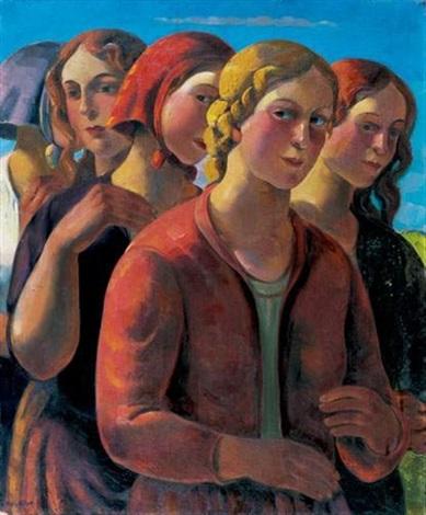 cortège de femmes by alois bilek