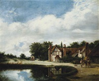 road side house by patrick nasmyth