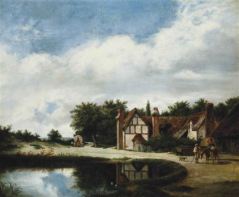 road side house by patrick nasmyth