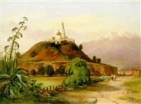 la pyramide à cholula au mexique by jean baptiste louis (baron gros) gros