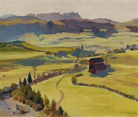 d'mühli. lank, appenzell by carl august liner