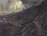 la route de la falaise à alameda by clovis cazes
