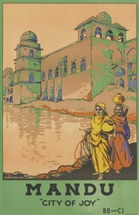 mandu city of joy (poster) by dorothy newsome