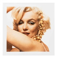 marilyn monroe, necklace (from the last sitting) by bert stern