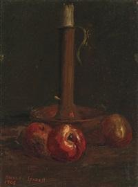 still life with apples by blanche lazzell