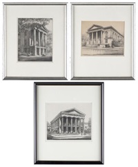 new bern academy, new bern, north carolina (+ 2 others; 3 works) by louis orr