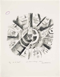 arc de triomphe by robert delaunay