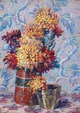 bouquet de fleurs by henri aurrens