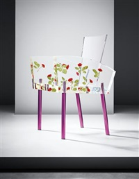 miss blanche' chair by shiro kuramata