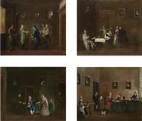 animated interior scenes (set of 4) by lorenzo gramiccia