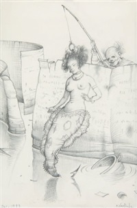 la sirène et le pêcheur by claude verlinde