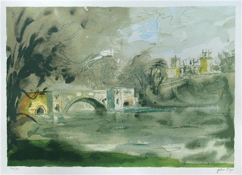 blenheim bridge by john piper