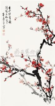 行书八言联 (couplet) by zhou jingsheng