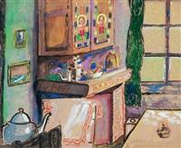 the kitchen dresser by gerard wilhelm johan van apeldorn