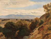 view of the valley by jean-antoine-simeon fort