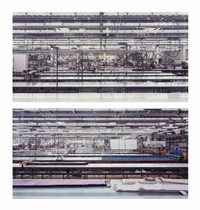 schiesser (diptychon) (diptych) by andreas gursky