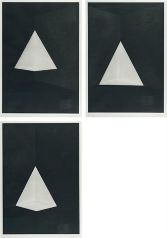 first light (series b) (triptych) by james turrell