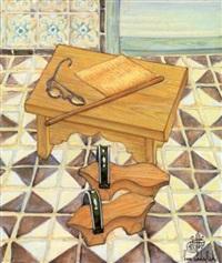 nature morte aux qob-qâb by jellal ben abdallah