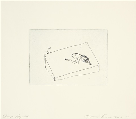sleep again by tracey emin