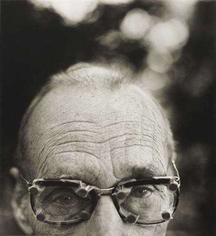 william s. burroughs with glasses, kansas by herb ritts