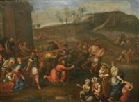 le portement de croix by pierre mignard