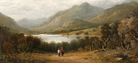 loch ness by samuel bough