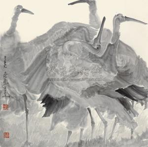 群舞 birds by zhou jingxin