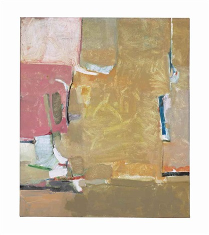 inscape from the urbana series by richard diebenkorn