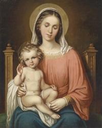 madonna mit dem jesuskind by dominik weber